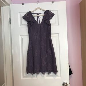 Beautiful purple lace party dress
